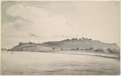 The Fort, Chunar (U.P.). 12 September 1803